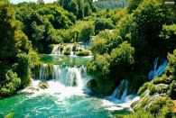 Krka Waterfalls and Sibenik Private Tour