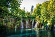 Group TRANSFER from Zagreb to Trogir/Split with Plitvice lakes tour