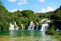 Krka Waterfalls & Sibenik